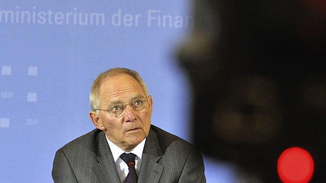 El ministro alemán de Finanzas, Wolfgang Schäuble
