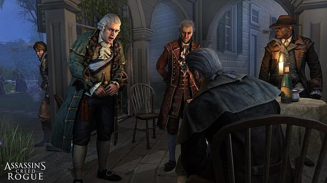 «Assassins Creed Rogue» permitirá controlar al personaje con los ojos