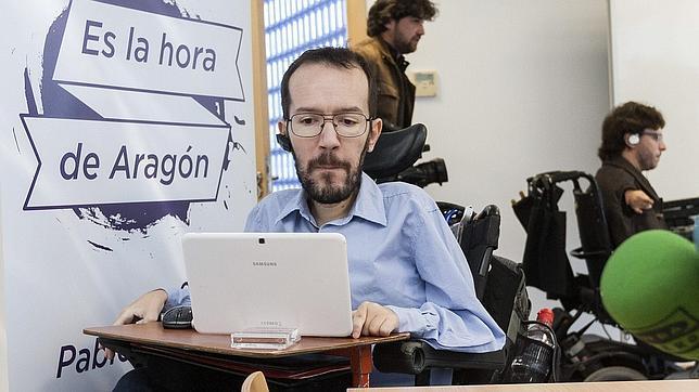 Pablo Echenique, investigador del CSIC, lidera la marca «Es la hora de Aragón» para Podemos en esta autonomía