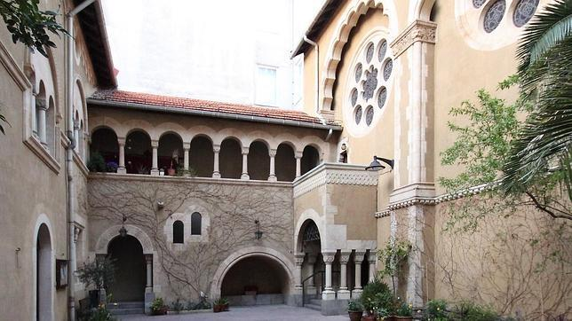 Friedenskirche, iglesia evangélica de Madrid (Paseo Castellana, 6).