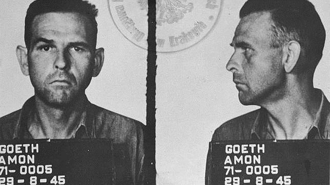 Amon Goeth fue detenido en 1945
