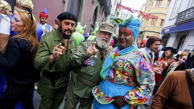 Resultado de imagen de Carnaval de día las palmas