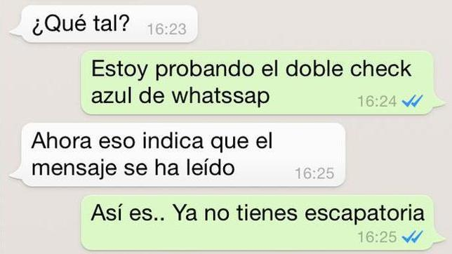doble check whatsapp