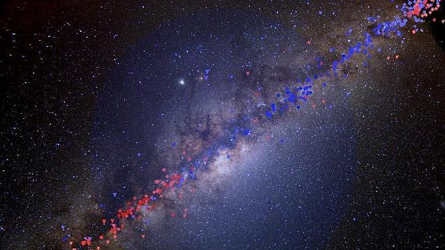 Hallan pruebas de la presencia de materia oscura en nuestra galaxia