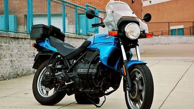Una moto similar a la posible causante del problema de priapismo