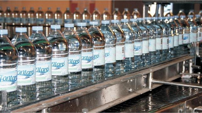 Agua Fontarel, marca granadina que ha sido adquirida ahora por Hijos de Rivera