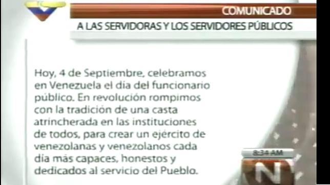 «Pablo Iglesias calca las palabras de Chávez»