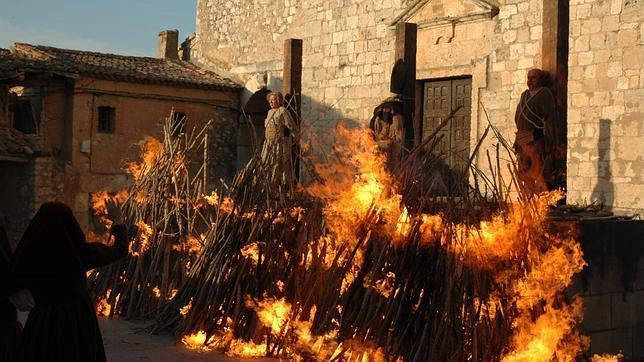 Escena de «Los archivos secretos de la Inquisición», documental de TVE emitido en 2006