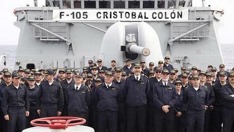 Felipe VI: «La Armada española nos llena de orgullo y responsabilidad»