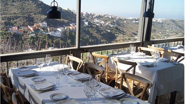 Los diez mejores restaurantes de canarias para comer de for Jardin canario restaurante