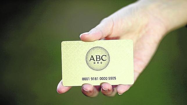 La nueva Tarjeta ABC Oro sortea 1000 euros semanales