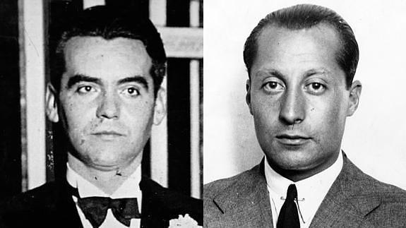 Federico García Lorca y José Antonio Primo de Rivera