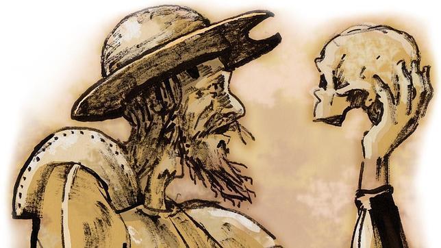 Don Quijote fue torero y tenía el cuerpo cosido a cornadas