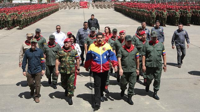 Maduro, en una ceremonia militar el pasado 4 de febrero