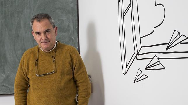 Pablo D'Ors, fotografiado en Madrid poco después de la entrevista