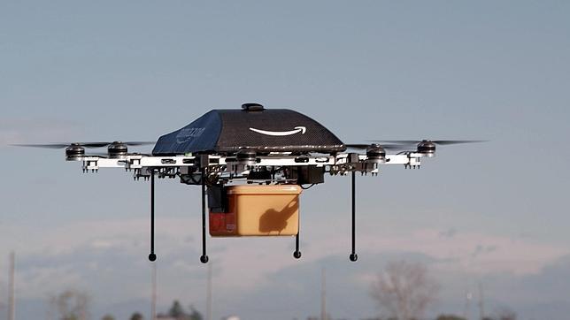 Protitpo de los drones que utilizaría Amazon para sus entrega