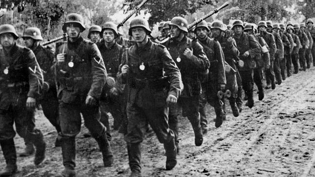 Tropas alemanas, en 1939