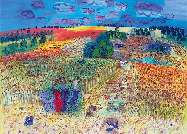 «El campo de trigo» (1929), de Raoul Dufy