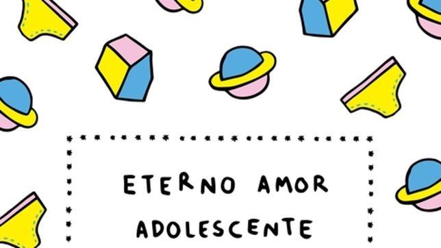 Portada de «Eterno amor adolescente», el proyecto conjunto de Juan Arcones y Sanz i Vila