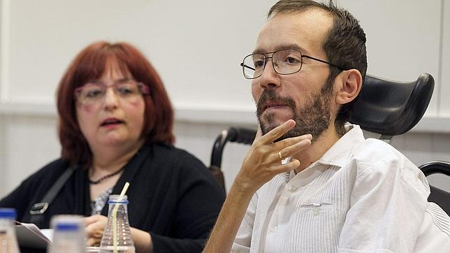 Pablo Echenique, eurodiputado de Podemos