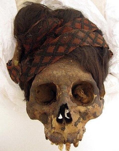 Una de las momias