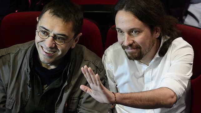 Juan Carlos Monedero y Pablo Iglesias