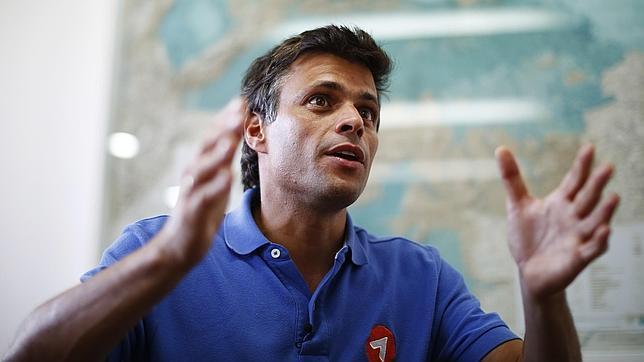 El líder opositor Leopoldo López cumple hoy un año de prisión