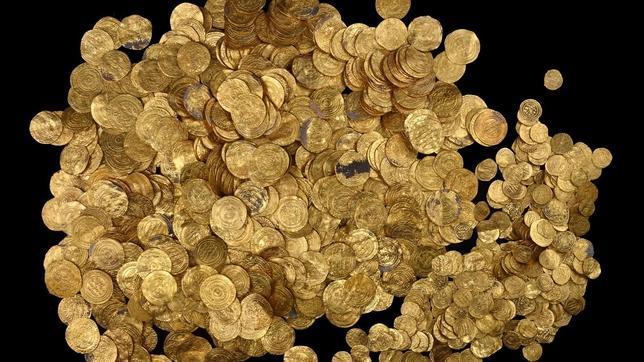 Se descubrieron 2.000 monedas de oro
