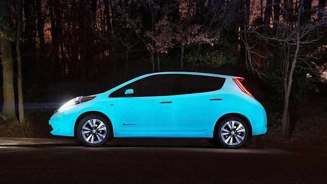 La intención de Nissan con esta sofisticada tonalidad es atenuar problemas de visibilidad nocturna que deriven en accidentes.