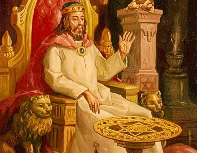 Resultado de imagen para rey salomon