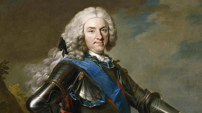 Retrato de Felipe V, por Louis-Michel van Loo