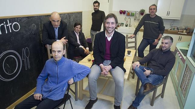 Los integrantes del grupo madrileño de crianza «Si los hombres hablasen»