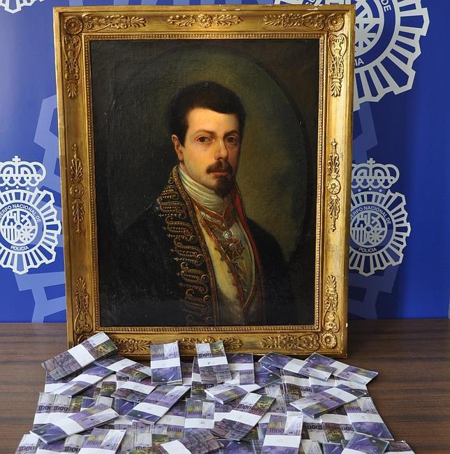 Estafados con dinero fotocopiado al intentar vender a un jeque un Goya falso