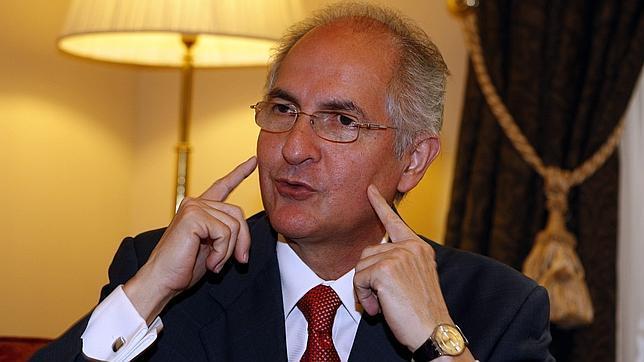Antonio Ledezma, en una entrevista con ABC en 2013