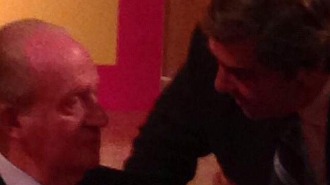 Don Juan Carlos: «Manolo, quiero un abono para Las Ventas»