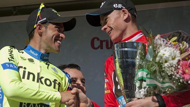 Froome, vencedor de la Vuelta a Andalucía