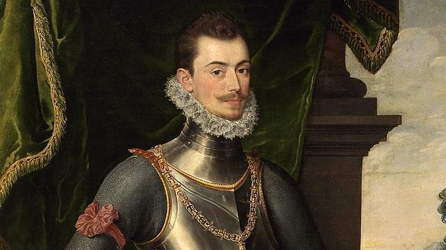 Retrato de Don Juan de Austria, poco después de la batalla de Lepanto