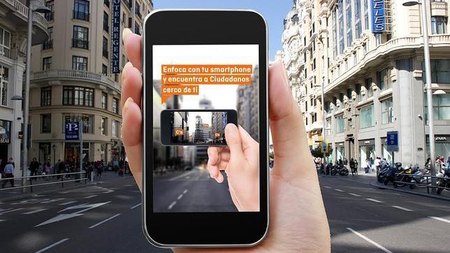 Ciudadanos presenta una aplicación móvil con realidad aumentada antes de las elecciones