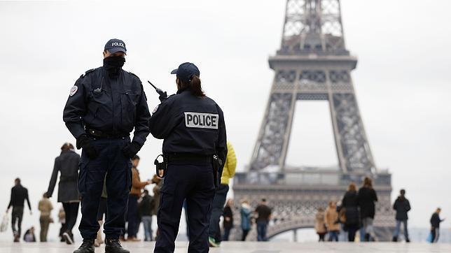 Despliegue de las fuerzas de seguridad en París