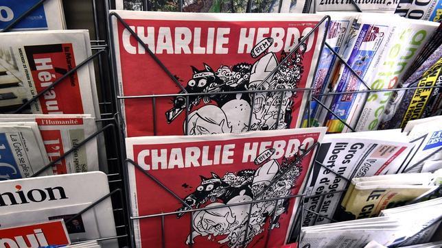Portada de la última edicón de «Charlie Hebdo», que sale hoy a la calle