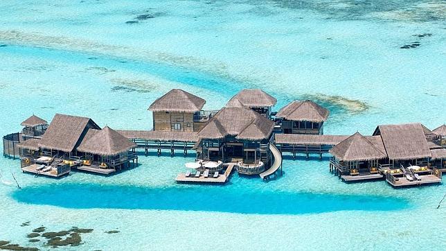 As es el mejor hotel del mundo for Hoteles en el agua maldivas
