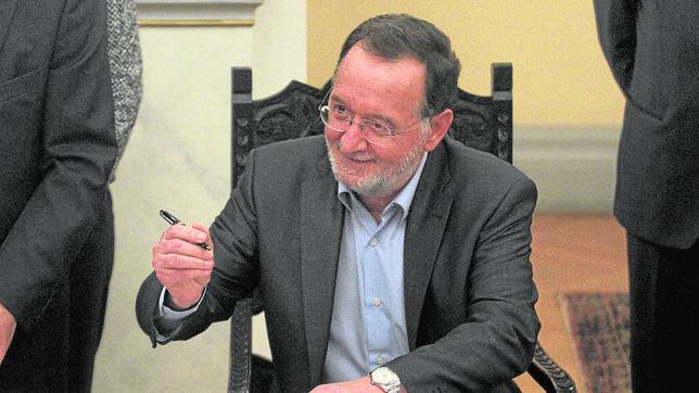 Panagiotis Lafazanis durante la toma de posesión del nuevo Gobierno griego