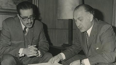 Muere Licinio de la Fuente, ministro de Trabajo y confundador de Alianza Popular