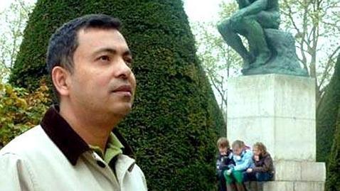 El escritor Avijit Roy, en una imagen de archivo