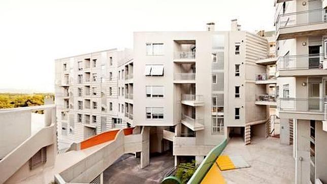 Las viviendas sociales de Terrassa, uno de los proyectos de los arquitectos