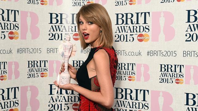 Taylor Swift, la artista más popular del mundo en 2014