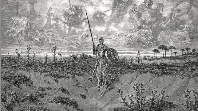 El Quijote que viajó a América