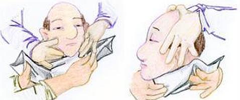 El dolor sobre la espátula derecha y en el cuello