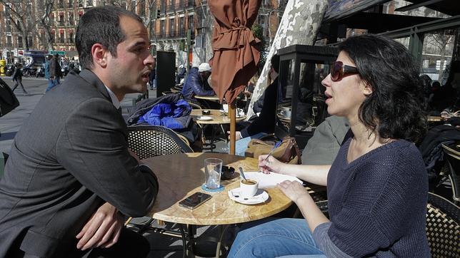 Aguado, de 32 años, ha sido portavoz de C´s en Madrid desde enero