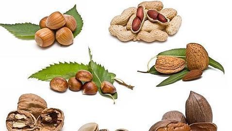 Nueces y cacahuetes para vivir más